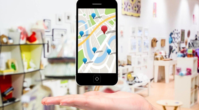 Ilustração do meu negócio cadastrado no Google Maps.