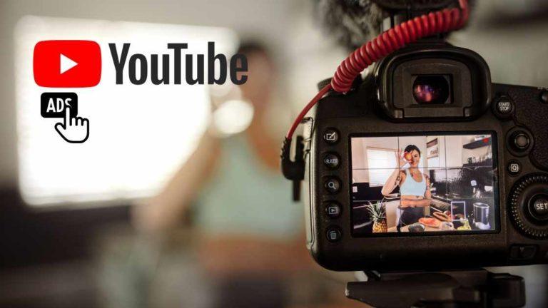 Gravação em uma consultoria de anúncio para o Youtube.