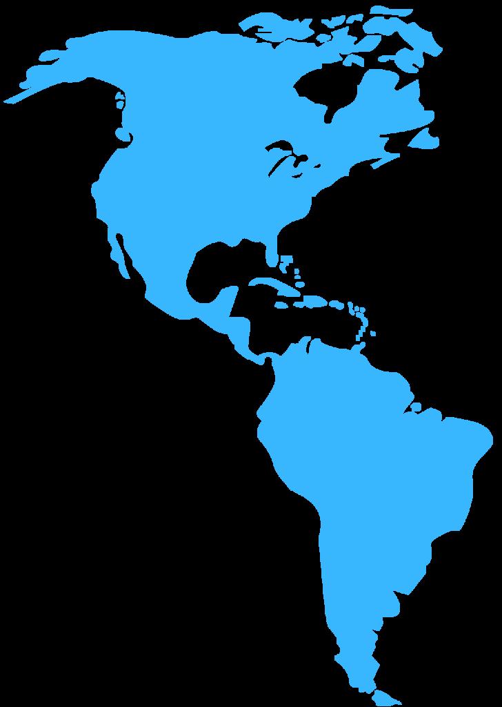 Mapas das Americas