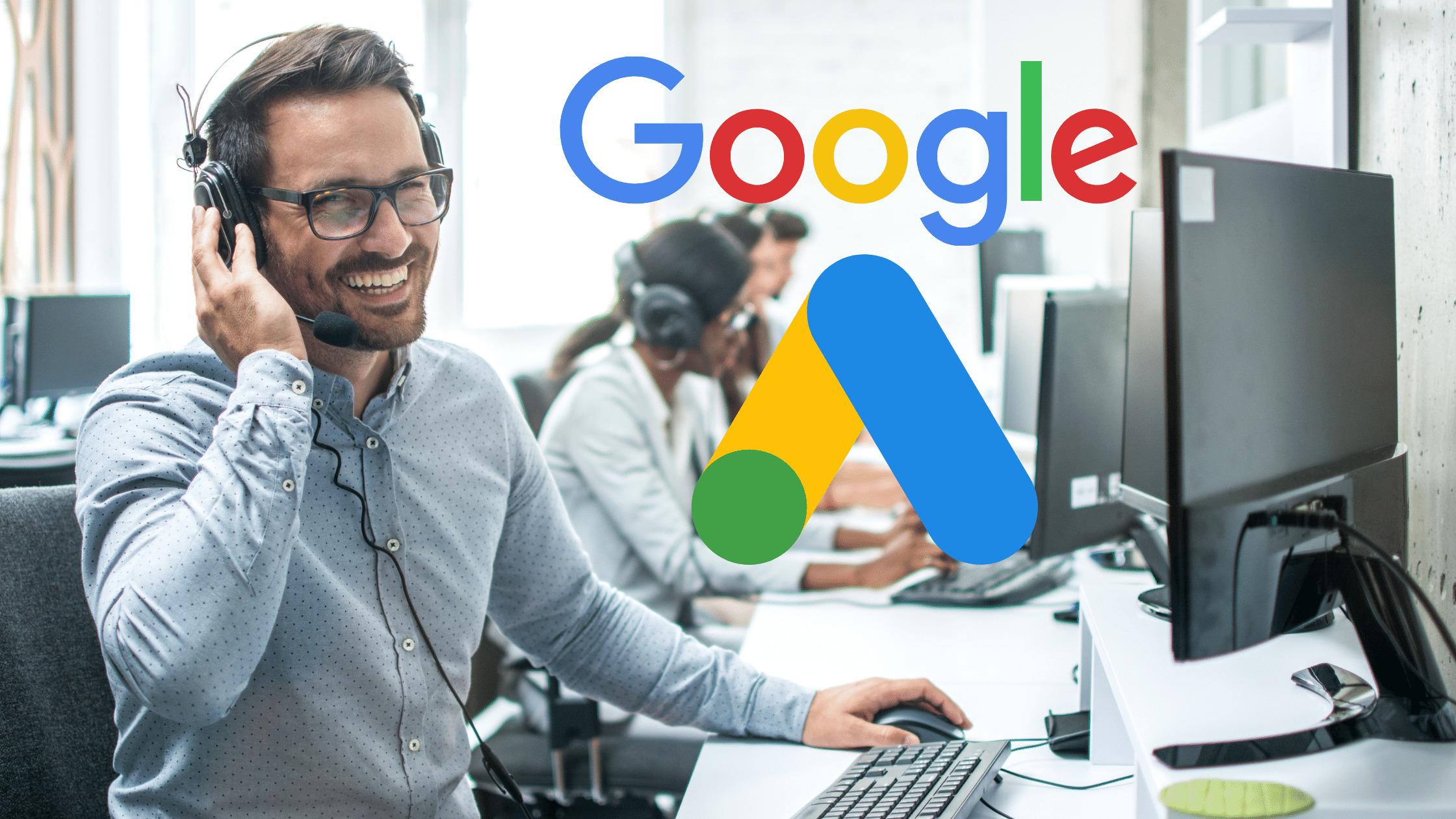 Como funciona o suporte do Google Ads?